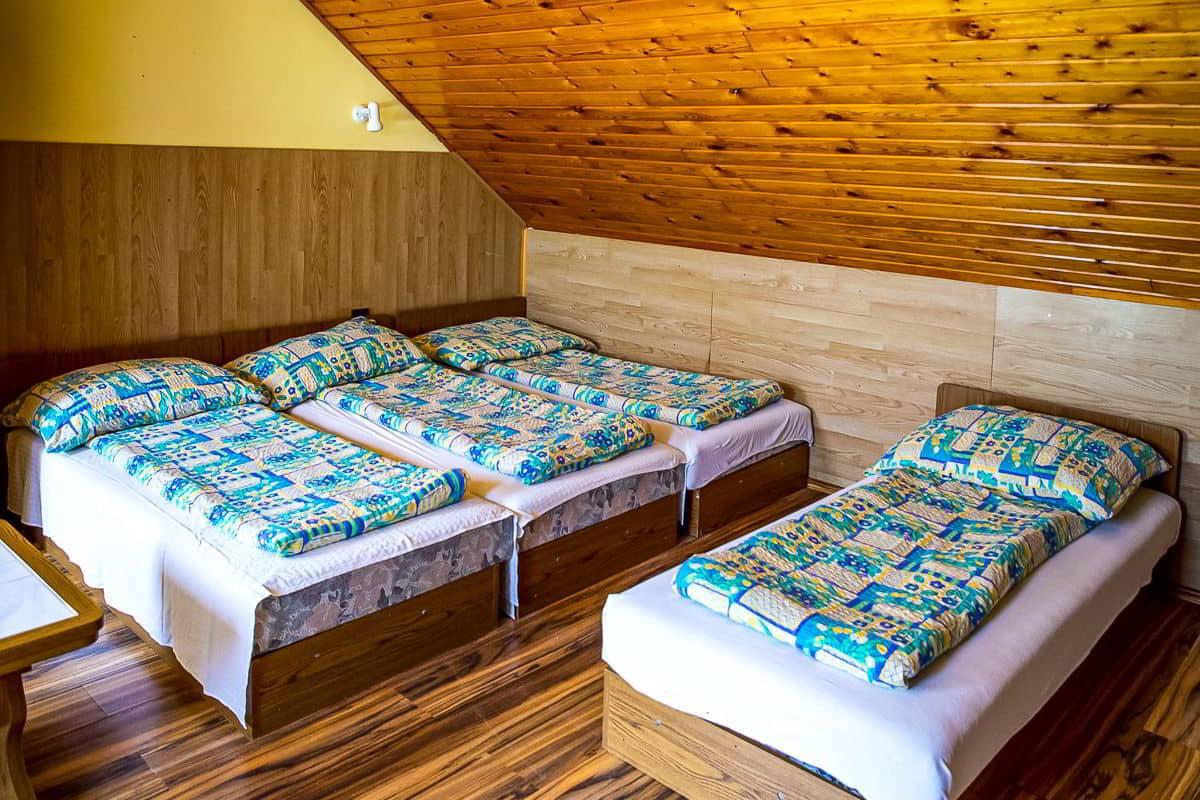 4 - 8 ágyas szoba